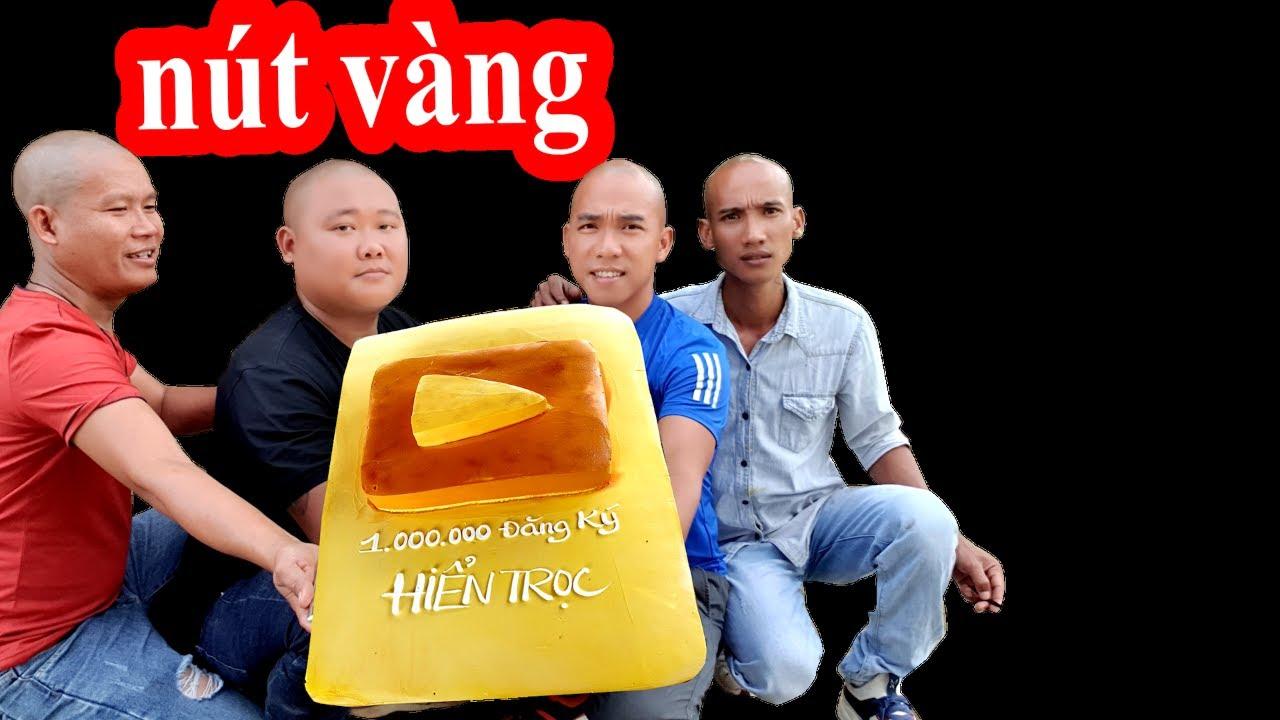 Tặng Bánh Sinh Nhật Nút Vàng Youtube Siêu To Cho Hiển Trọc – Son Duoc Vlogs