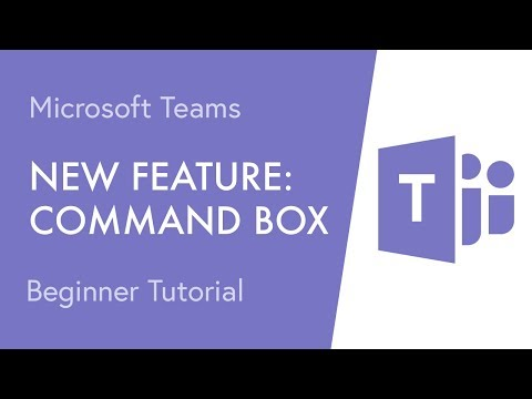 New Feature: Microsoft Teams Command Box