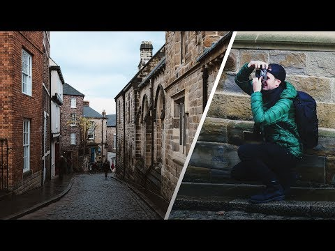EXPLORING DURHAM with X100F + LUMIERE