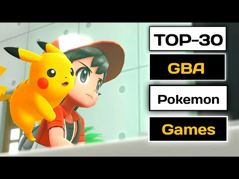 TOP 30 GBA Pokemon Games For Android | Pokemon Offline Games