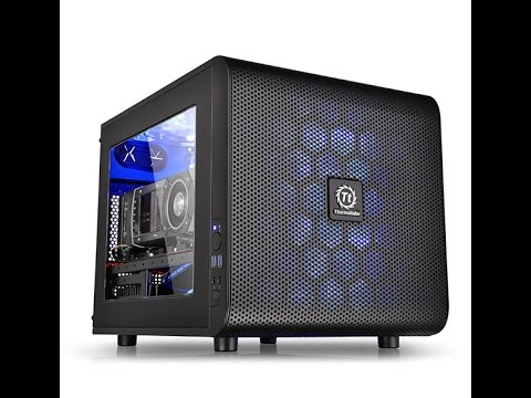 Thermaltake Core V21 Micro Chassis Overview
