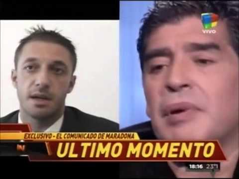 """Maradona: En 8 años nunca la vi trabajar"""""""