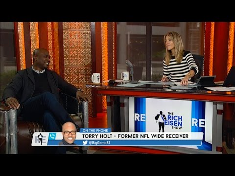 Former Rams WR Torry Holt Talks Rams Moving To L.A. & More - 1/19/16