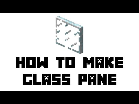 how to craft glass panes minecraft pe how to make glass panes 6768