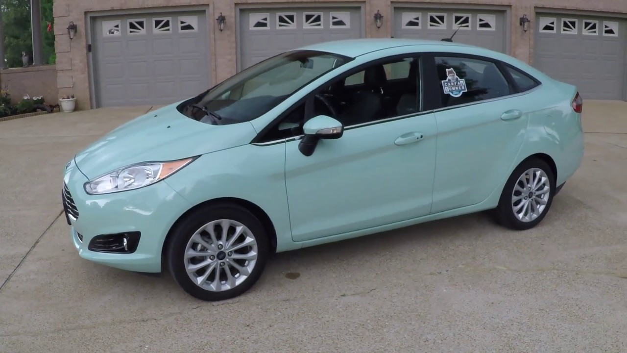 2017 Ford Fiesta Titanium Bohai Bay Mint Metallic Leather used for sale info www sunsetmotors ...