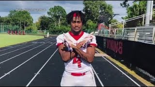 High school football player brain dead after tackle, organs to be donated