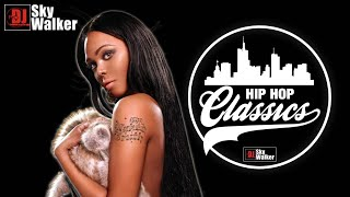 Hip Hop Classics R&B Rap Old School Club Mix Megamix Mixtape | DJ SkyWalker
