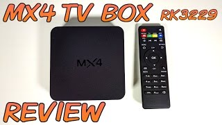 MX4 TV BOX REVIEW - RK3229, Android 4.4