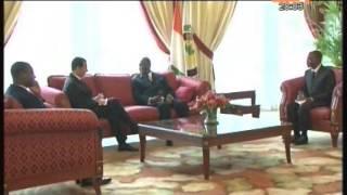 Les ambassadeurs d'Italie,du bénin et de Tunisie présentent leurs lettres de créance à Ouattara
