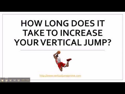 How Long Does It Take To Increase Your Vertical Jump