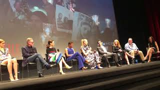The Handmaid's Tale FYC Panel Elisabeth Moss Alexis Bledel Yvonne Strahovski and more