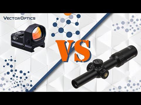 Вечный спор: коллиматор vs оптика
