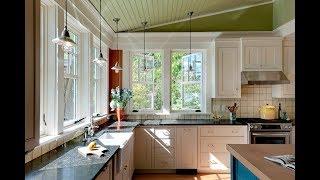 Кухня в Доме с Окном - фото - дизайн 2018 / Kitchen in the House with Window photo design