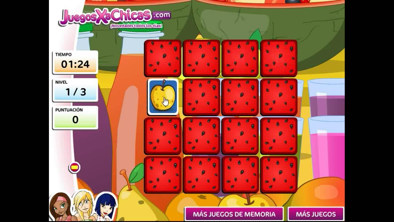 Juego de memoria con frutas juegos para chicas youtube - Juegos para chicas de decoracion ...