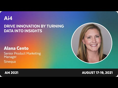 Drive Innovation by Turning Data into Insights