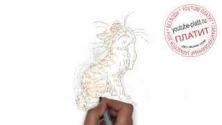 Нарисованные карандашом кошки  Как нарисовать обиженного полосатого кота карандашом за 22 секунды