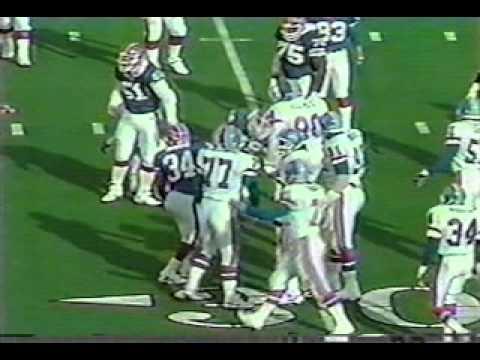 Bills vs Broncos 1991 AFC Champ pt2 of 8