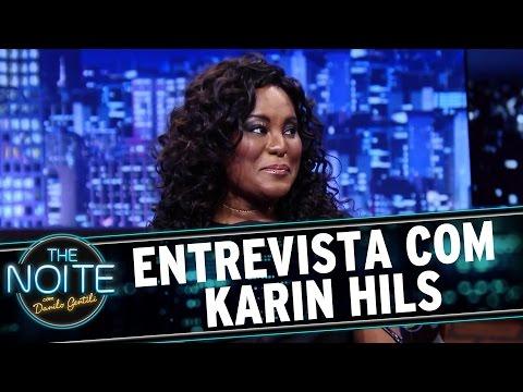 The Noite (23/11/15) - Entrevista Com Karin Hils