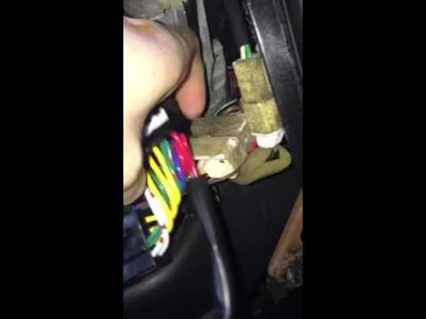 MR2 HKS turbo timer harness install - YouTube