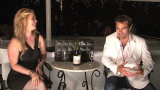 Actor Scott Elrod from quotThe Switchquot amp quotMen in Treesquot tastes a Chilean Chardonnay