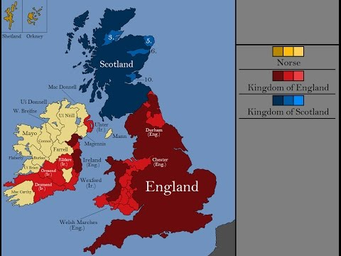 The History of the British Isles: Every Year