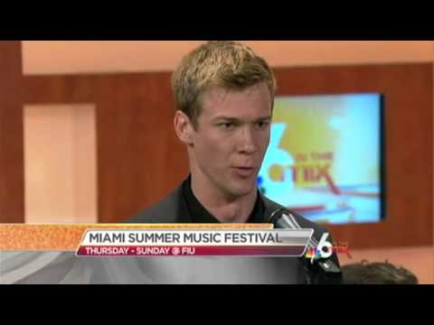 Miami Summer Music Festival - NBC 6 South Florida (Attila Dobak)