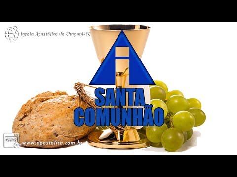 SANTA COMUNHÃO CHAPECÓ-SC 17/12/2017 - PASTOR LUIZ MARTINS