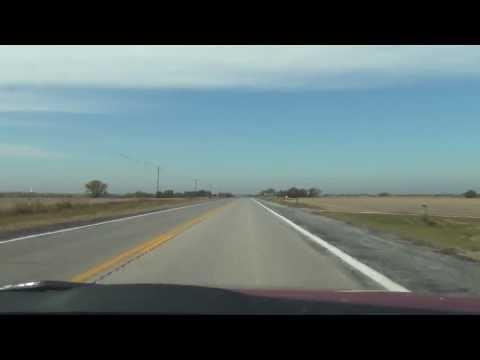 Car Camera - NE 33 - U.S. 77 Interchange to Crete, NE . 2013 ( ネブラスカ州道33号線 )