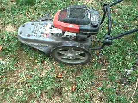 Craftsman 5hp 22 cut weed trimmer youtube keyboard keysfo Images