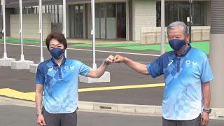 東京五輪選手村を公開 来月13日に開村