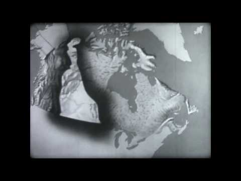 Physical Regions of Canada (1954)- Classic Canadian documentary