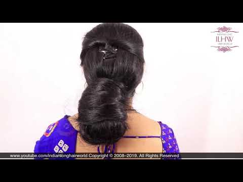 asmr-low-bun-|-how-to-make-low-south-indian-style-hair-bun-|-diy-low-hair-bun-tutorial-for-beginners