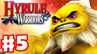 Hyrule Warriors - Gameplay Walkthrough Part 5 - Sheik in Death Mountain! Darunia Boss! (Wii U)