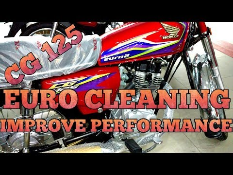 HONDA CG125 EURO CLEANING | IMPROVE PERFORMANCE OF CG125 | MUST WATCH