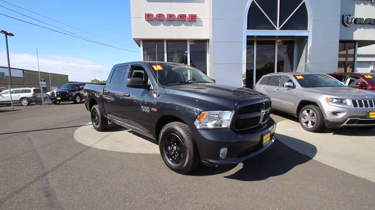 2016 Dodge Ram 1500 ST Maximum Steel Metallic GG353354