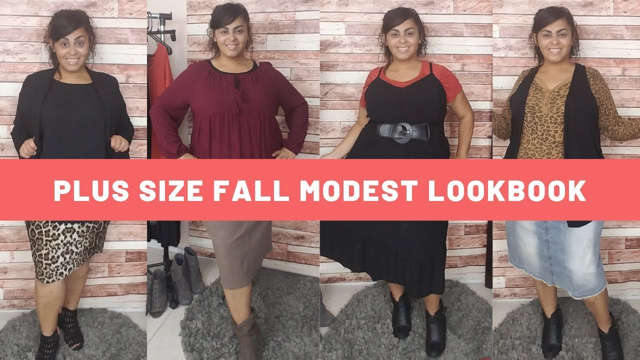 [VIDEO] - #Modesty #Outfit Ideas #Fall Outfits 5 Plus Size Fall Modest Outfit Ideas || Secret Armor Journey 1