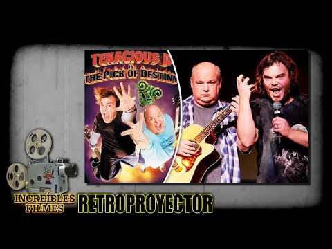 Retroproyector 01 - Tenacious D in The Pick of Destiny (USA 2006)