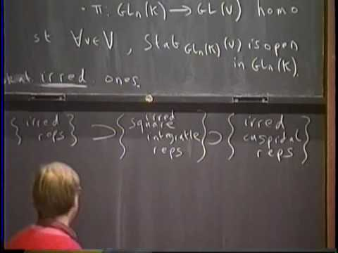 The local Langlands conjecture - Richard Taylor
