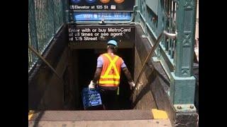 NYC Subway Train Derails, Some Passengers Hurt