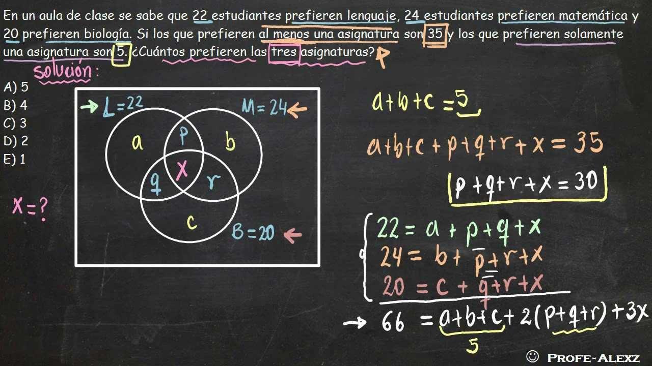 Problema diagrama de venn 208 youtube ccuart Image collections