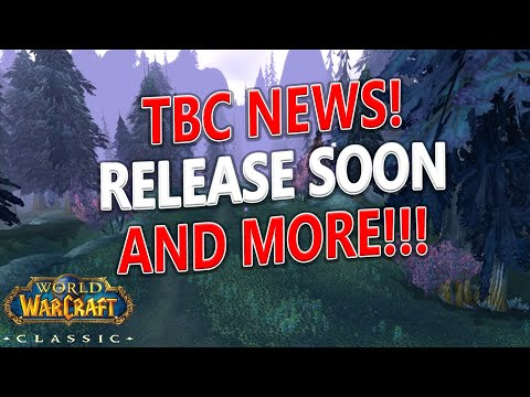 WoW Classic - BIG TBC Prepatch and Live Updates! TBC Release/PVP and Paladins!