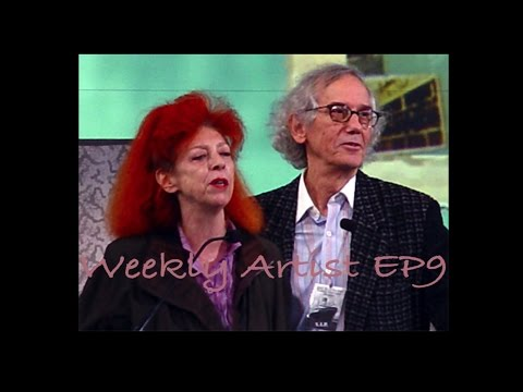 [Weekly Artist] EP9 Christo and Jeanne-Claude