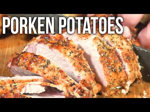 Porken Potatoes –a Pork and Chicken Roast by the BBQ Pit Boys