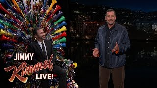 failzoom.com - Adam Sandler Surprises Jimmy Kimmel on His 50th Birthday
