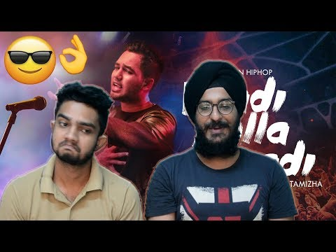 Vaadi Pulla Vaadi - Hiphop Tamizha REACTION | Parbrahm & Anurag