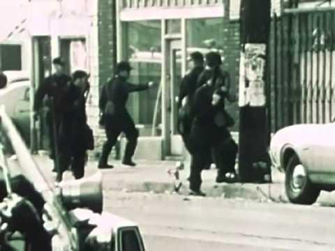 LAPD raid on the Black Panthers' LA Headquarters, 1969