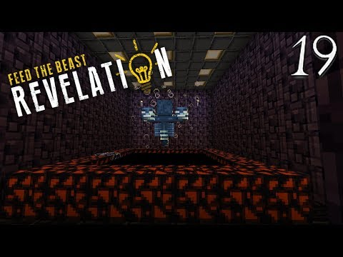 Lets Play Feed The Beast Revelation - Auto Wither Grinder (19) ftb revelation