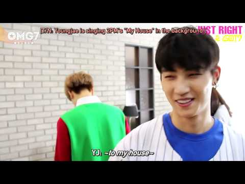 [ENG SUB] 150710 GOT7 Just Right Live Party Behind The Scenes