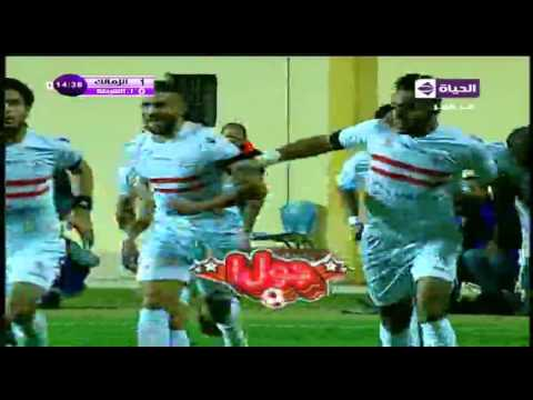 اهداف مباراة الزمالك واتحاد الشرطة بتاريخ 16-01-2016 الدوري المصري