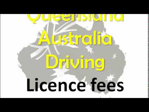 Queensland Australia Driving License Fee For Learner Provisional